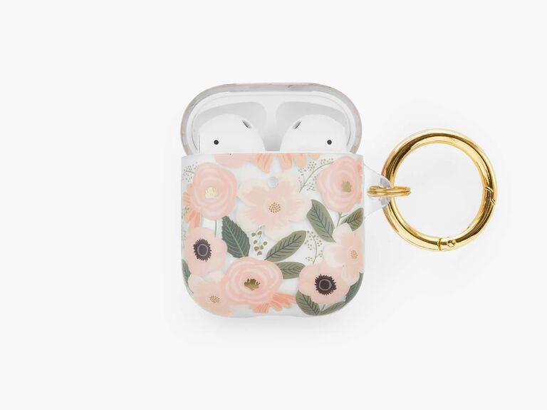 Elegant AirPod case affordable bridesmaid gift