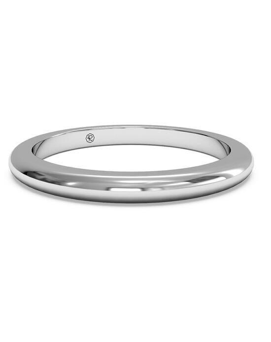 Ritani Women's Classic Wedding Band - in 14kt White Gold Wedding Ring photo