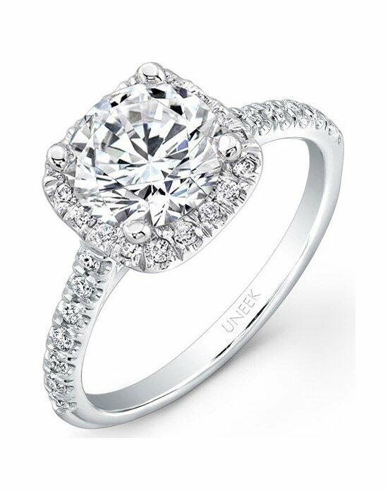 Uneek Fine Jewelry USM08CU-6.5RD Engagement Ring photo