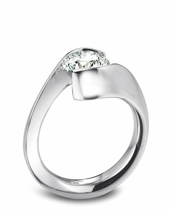 Platinum Must Haves Gelin Abaci Platinum and Diamond Engagement Ring Engagement Ring photo
