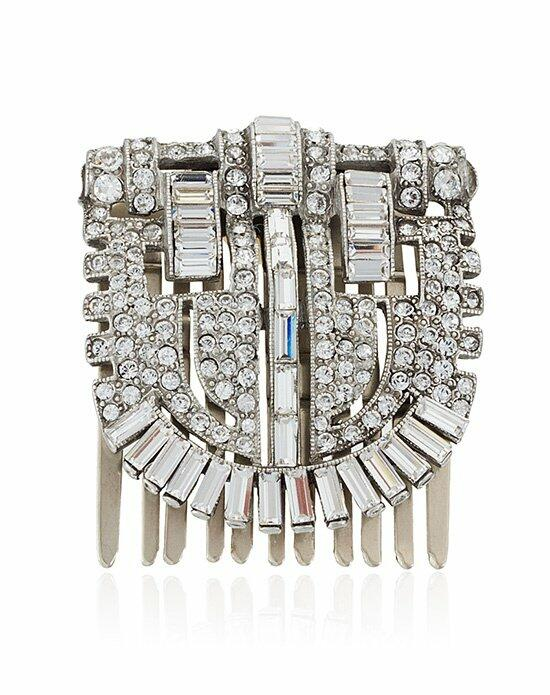Thomas Laine Arabella Crystal Hair Comb Wedding Pins, Combs + Clips photo