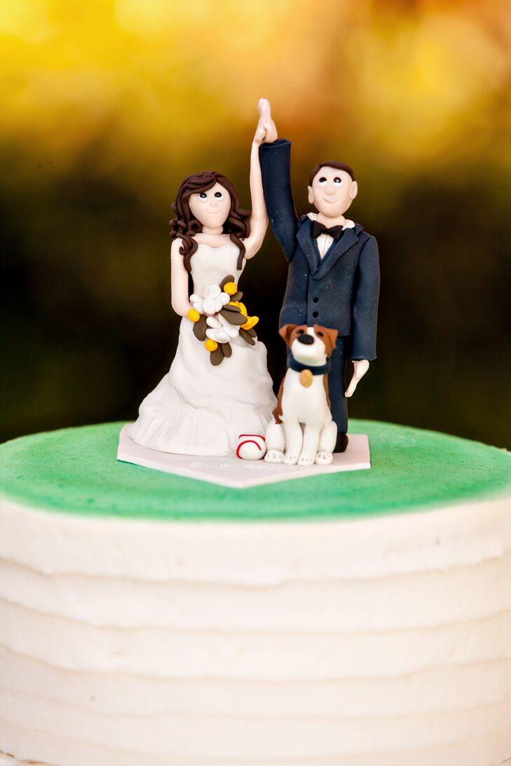 Custom Cake Topper with Dog
