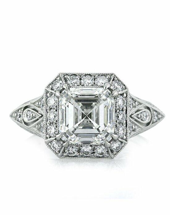 Mark Broumand 3.34ct Asscher Cut Diamond Engagement Ring Engagement Ring photo