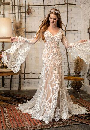 All Who Wander Lenox Sheath Wedding Dress