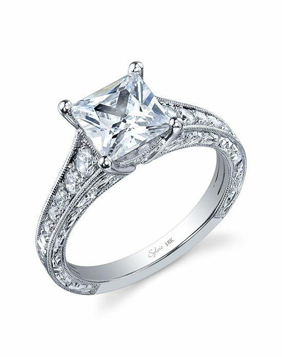 Sylvie Collection SY883 Engagement Ring photo
