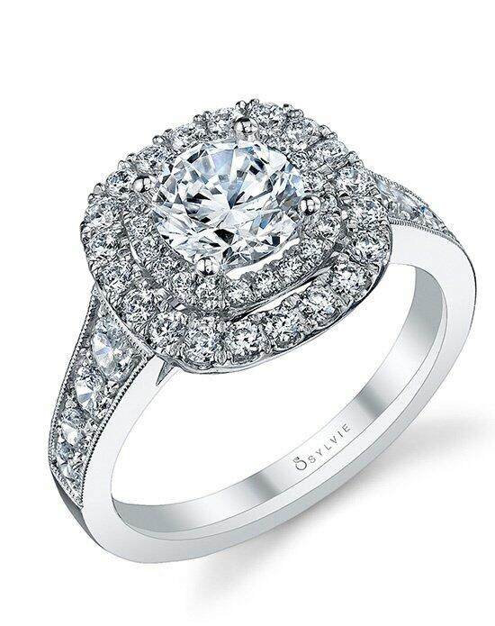 Sylvie Collection S1081 Engagement Ring photo