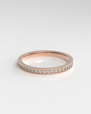 HOLDEN The Channel Eternity White Gold, Rose Gold, Platinum Wedding Ring