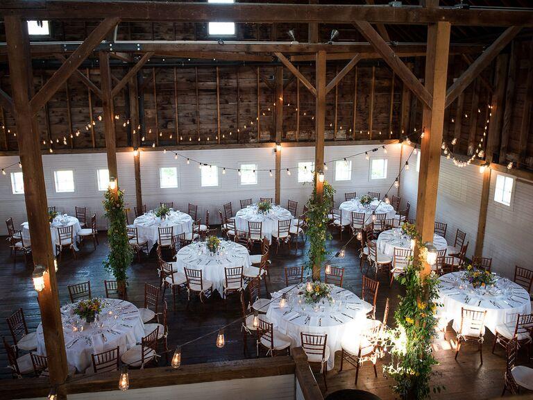 Barn wedding venue in New Marlborough, Massachusetts.
