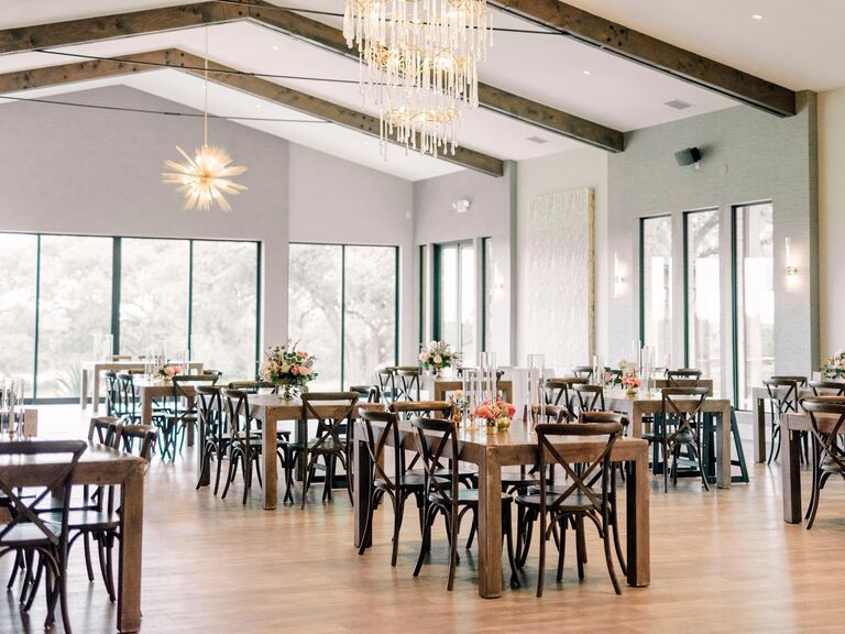 Texas Hill Country wedding venue in Driftwood, Texas.