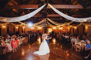 Rustic Reception Hall Wooden Dance Floor