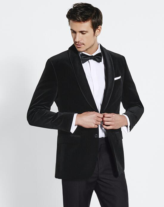 The Black Tux Velvet Jacket Tuxedo Wedding Tuxedos + Suit photo