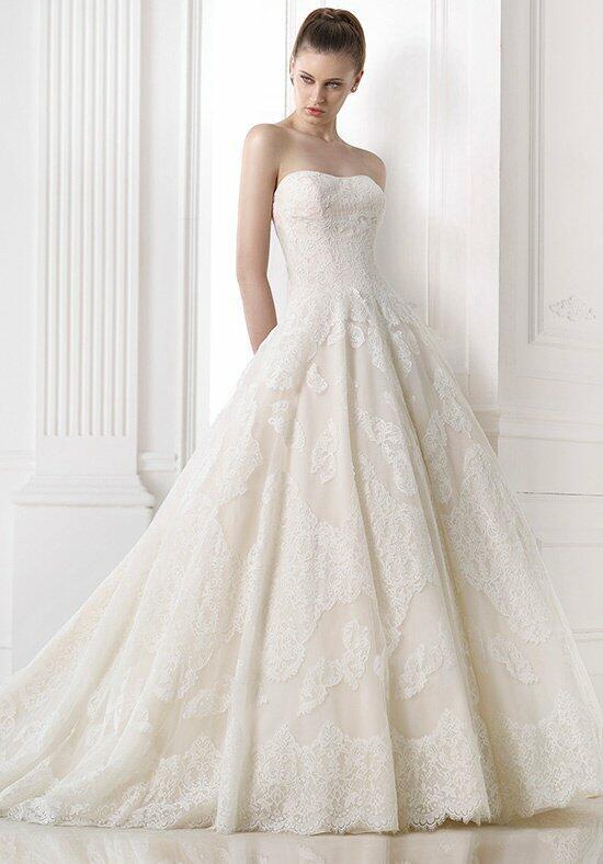 Pronovias ornani wedding dress the knot for Pronovias wedding dresses price range