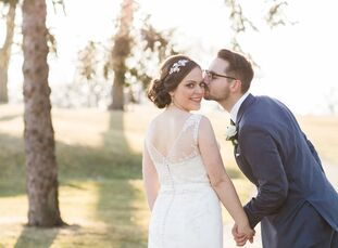 Nothing says soul mates like a shared love of literature. Just ask newlyweds Katie Charnas (26 and a sales account executive) and Kaleb Wachala (25 an