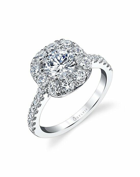 Sylvie Collection S1299 RCH Engagement Ring photo