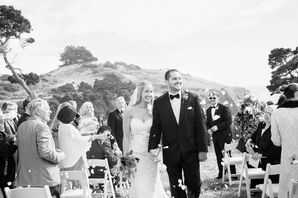 Breathtaking Cliffside Ceremony