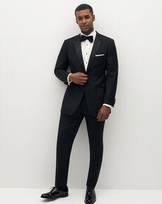 Suit Shop Men's Premium Notch Lapel Black Tuxedo Black Tuxedo