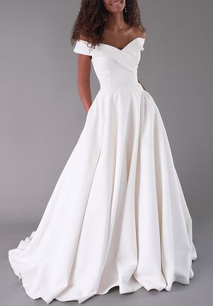 Louvienne Lela A-Line Wedding Dress
