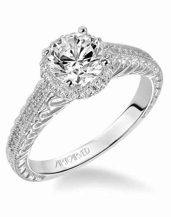ArtCarved 31-V530ERW-E Engagement Ring photo