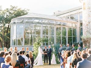 Poolside Wedding at The Greenhouse in Driftwood, Texas