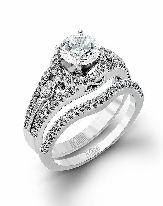 Zeghani ZR151 Engagement Ring photo