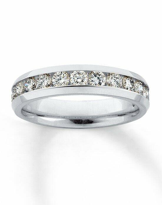 Kay Jewelers Diamond Band 14K White Gold Supreme Fit 1ct tw-530095405 Wedding Ring photo