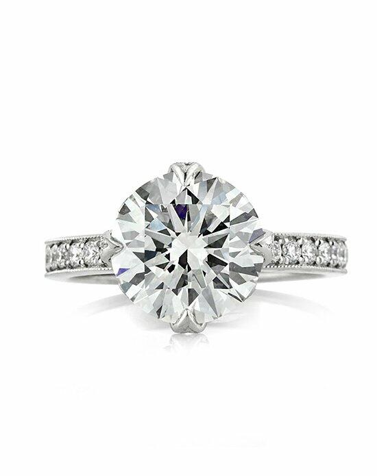 Mark Broumand 4.09ct Round Brilliant Cut Diamond Engagement Ring Engagement Ring photo
