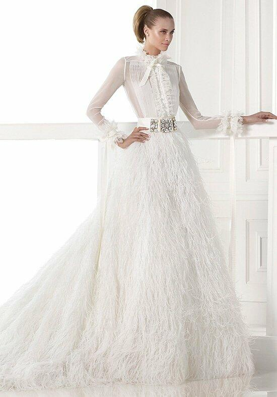 PRONOVIAS CARMIT Wedding Dress photo