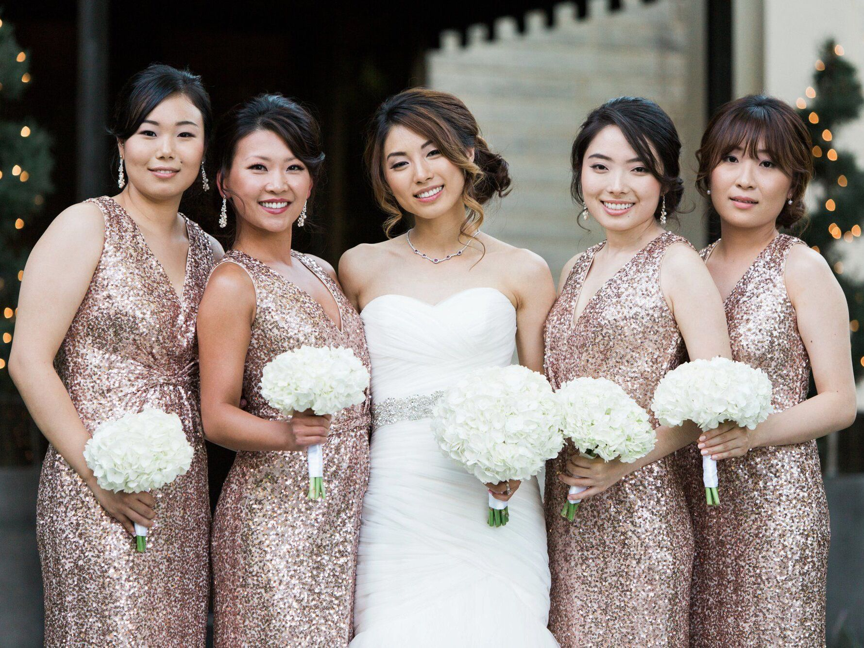 16 Rose Gold Bridesmaid Dresses For Any Wedding