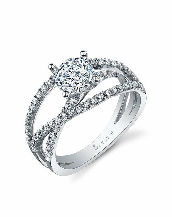 Sylvie Collection SY992 Engagement Ring photo
