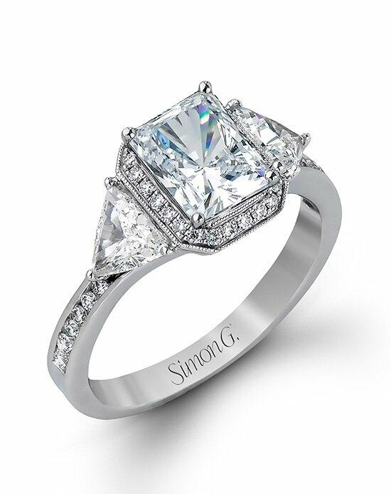 Simon G. Jewelry MR2400 Engagement Ring photo