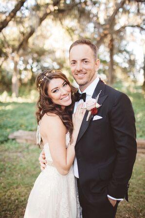 Romantic Cross Creek Ranch Couple Shot