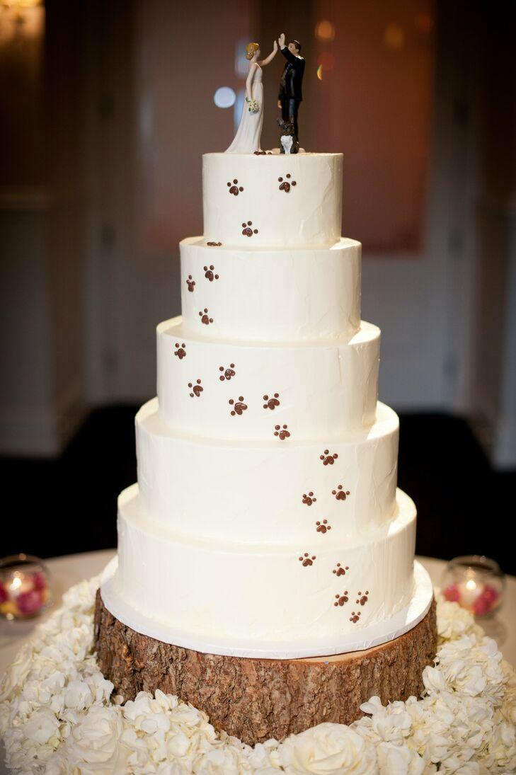 Pawprint Cake