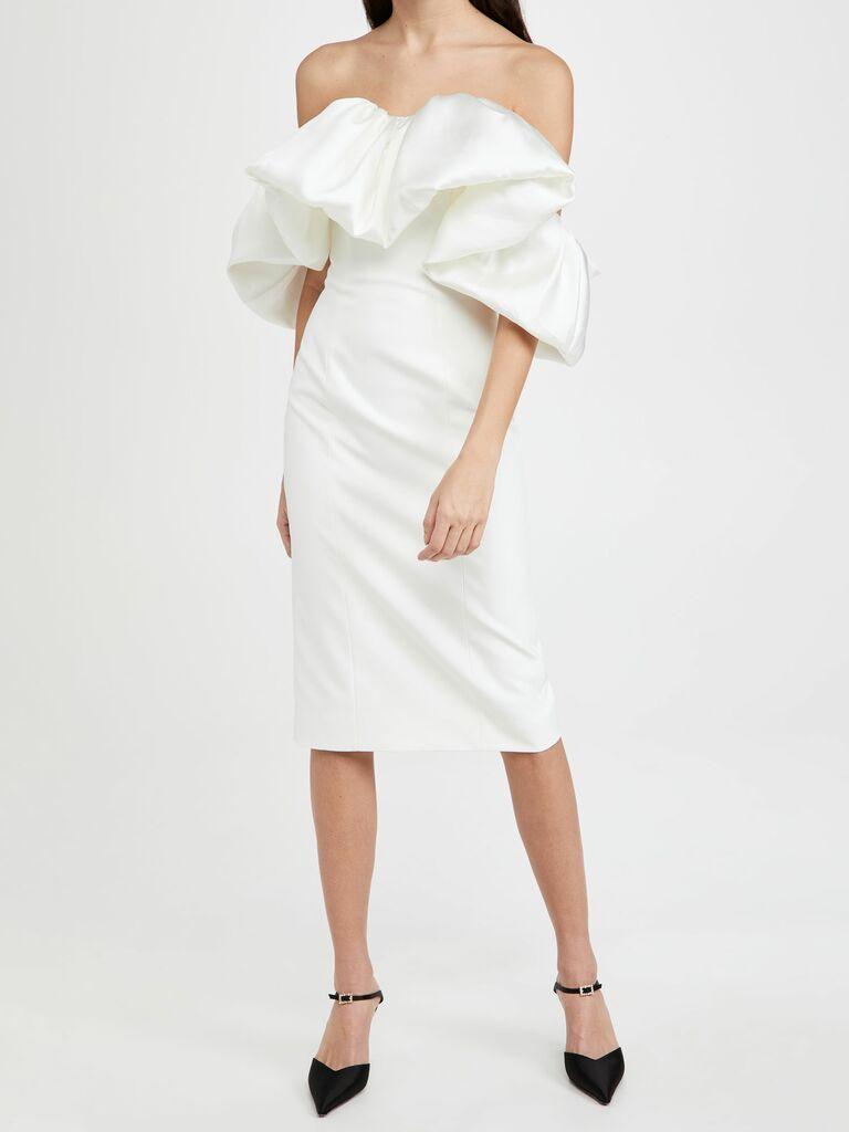 Solace London reception dress