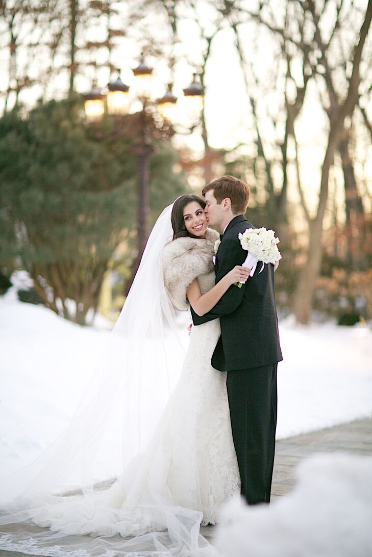 """Jessica Gregoli (25 and a seventh grade math teacher) and William """"Billy"""" Boska (25 and a civil engineer) decided to get married at Crystal Plaza in L"""
