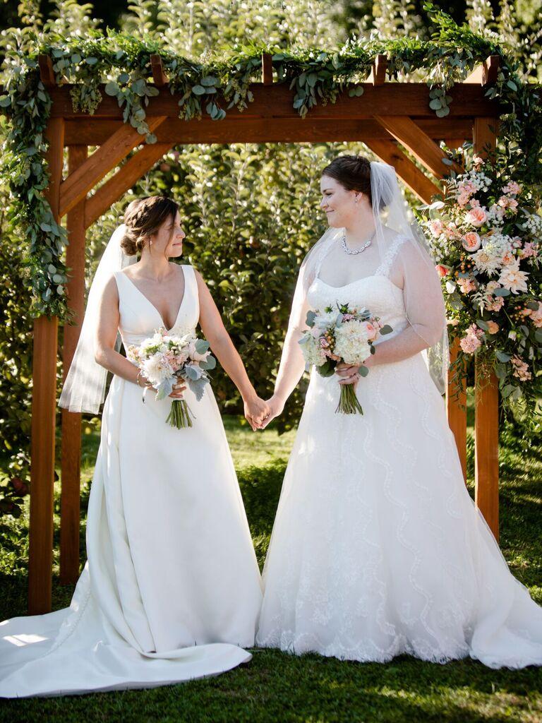 Barn wedding venue in Whately, Massachusetts.