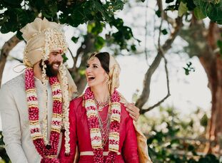 Melissa Graves (35 and an actor) and Mehul Gulati (37 and works in software development) brought India to Florida in three days of cross cultural wedd
