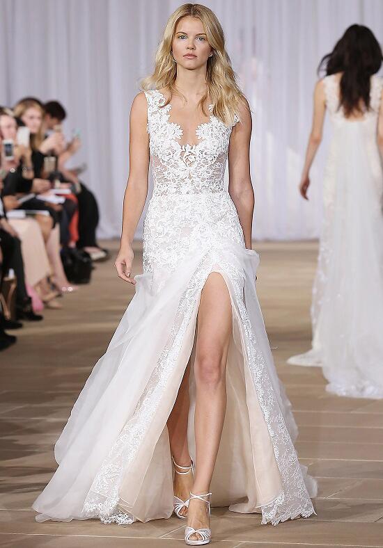 Ines di santo morning wedding dress the knot for How to dress for a morning wedding
