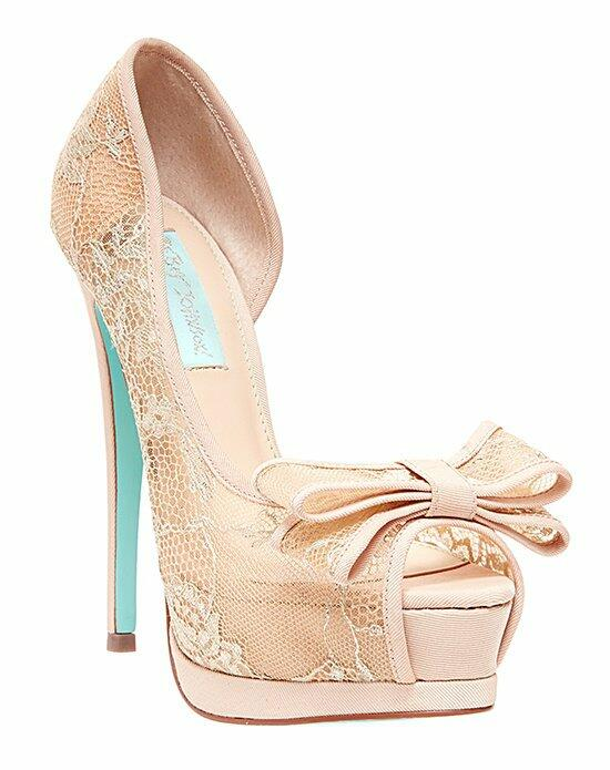 Blue by Betsey Johnson SB-VAIL - CHAMPAGNE Wedding Shoes photo