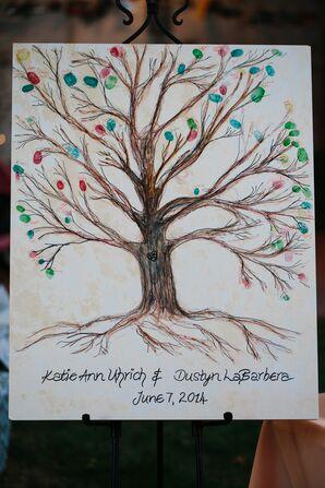 Tree-Inspired Fingerprint Guest Board