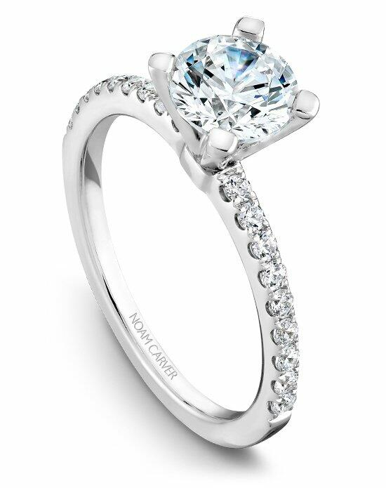 Noam Carver B017-01WS-100A Engagement Ring photo