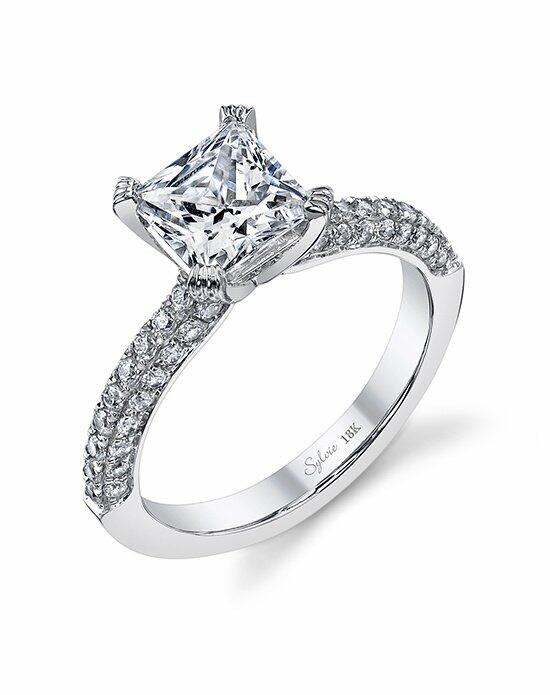 Sylvie Collection SY976 Engagement Ring photo