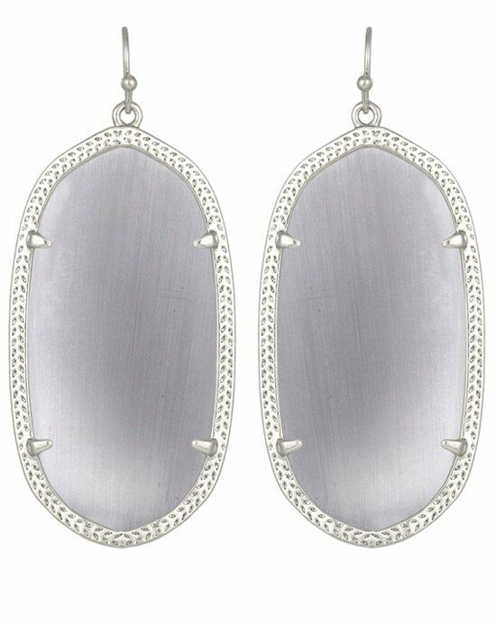 Kendra Scott Danielle Silver Earrings in Slate Wedding Earrings photo
