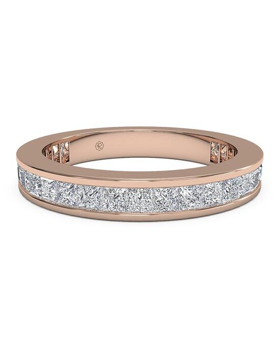 Ritani Women's Channel-Set Princess Diamond Eternity Wedding Ring - in 18kt Rose Gold - (1.25 CTW) Wedding Ring photo