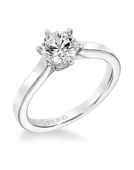 ArtCarved 31-V696ERW-E Engagement Ring photo
