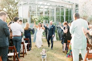 Modern Wedding at The Greenhouse in Driftwood, Texas