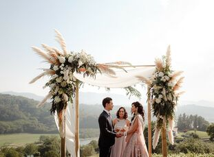 One summer afternoon over a glass of Spanish wine in Boulder, Colorado, Vasudha, Alex, and their wedding planner decided to shift gears and move the c