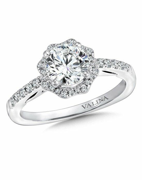 Valina R9647W Engagement Ring photo