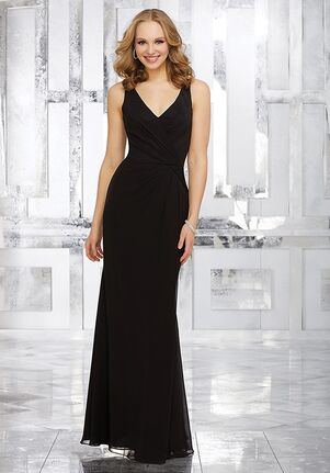 Morilee by Madeline Gardner Bridesmaids Style 21538 V-Neck Bridesmaid Dress