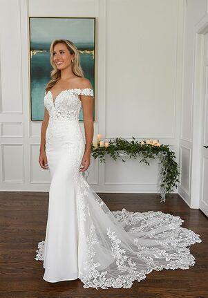 Essense of Australia D3247 Sheath Wedding Dress