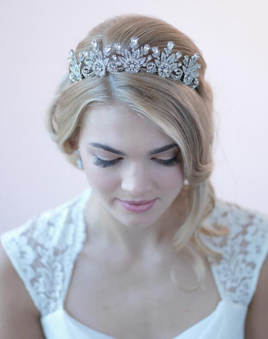USABride Audrey Vintage Bridal Crown Wedding Tiaras photo